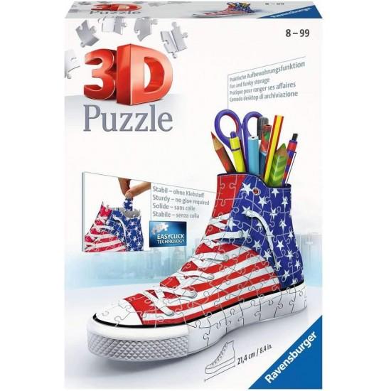 12549 puzzle sneaker sneaker flag - portapenne