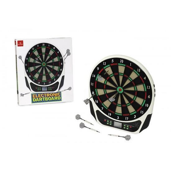 053536 bersaglio elettronico electronic dartboard con alimentatore