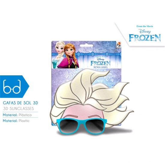 Wd19543 frozen elsa occhiali da sole 3d